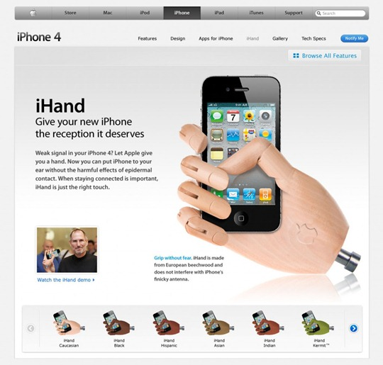 iHand for iPhone 4
