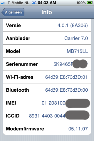 iOS 4.0.1 iPhone 3GS Jailbreak