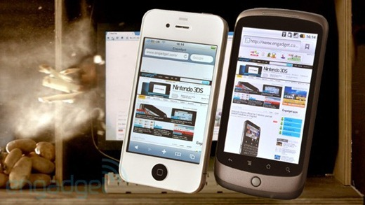 iPhone 4 vs Nexus One
