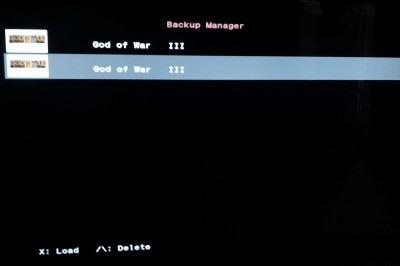 Back-Up-Manager-Menu