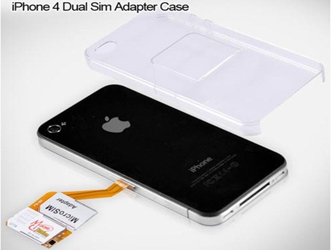 Dual SIM Adaptor for iPhone 4 (1)