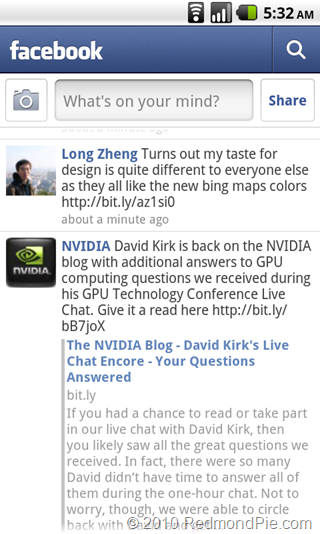 Facebook for Android (2)