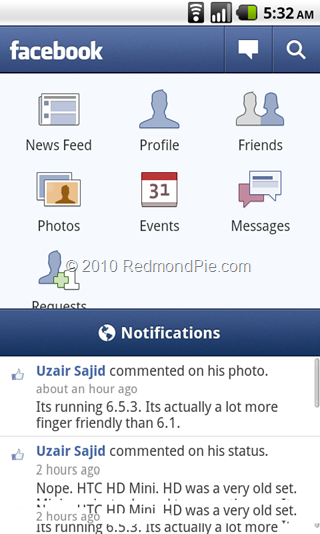 Facebook for Android (3)