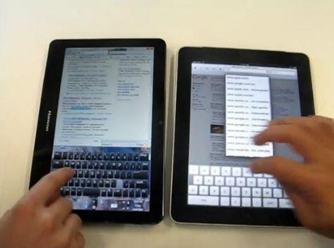 Windows 7 Slate vs iPad