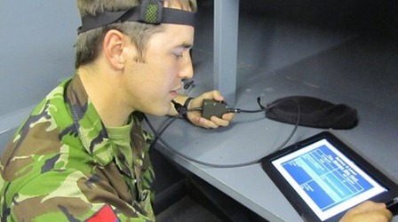 iPad Military Traning