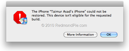Fix iTunes 1004, 1015 Error, and Restore iPhone 4, 3GS