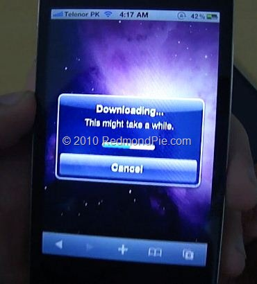iPhone 4 JailbreaMe 2.0 Star (3)