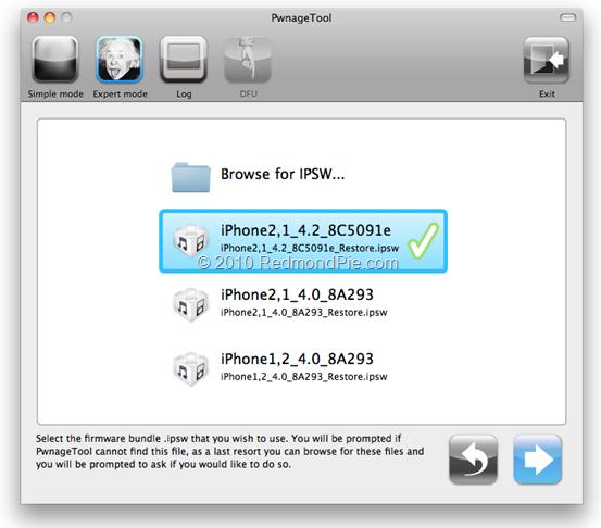 Jailbreak iOS 4.2 on iPhone 3GS (1)