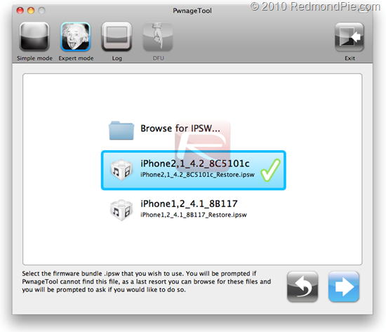 PwnageTool for iOS 4.2 Beta 2