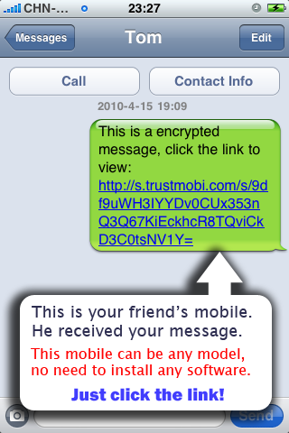 secret text app iphone send secret encrypted sms text messages from your iphone 16087