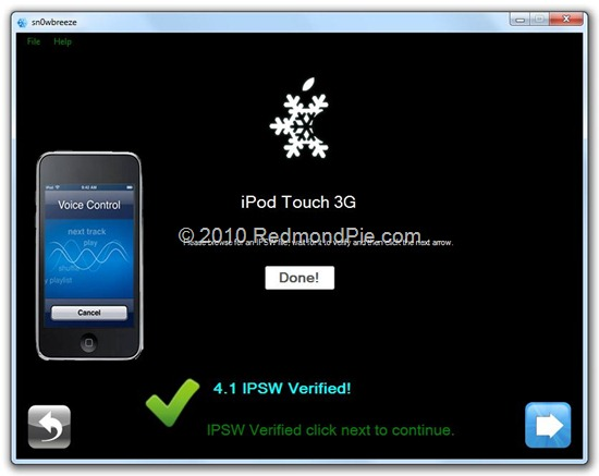 which firmware should i download ipod touch 3g 1a002blk6k2