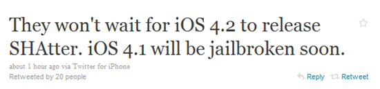 Jailbreak for iOS 4.1