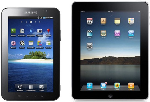 iPad vs Galaxy Tab