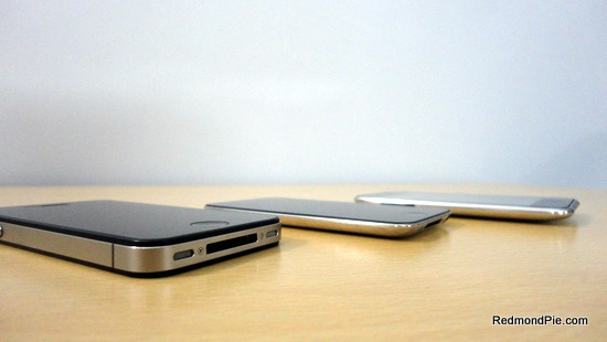 iPod touch 4G 3G iPhone 4 comparison