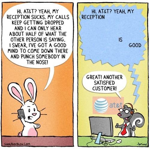 AT&T and Verizon