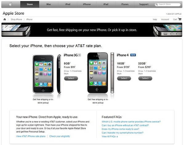 Buy iPhone 4