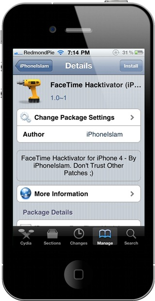 FaceTime on iPhone 4 (1)
