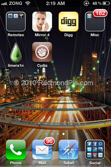 Jailbreak iOS 4 1 on iPhone 4, 3GS with Limera1n [How to