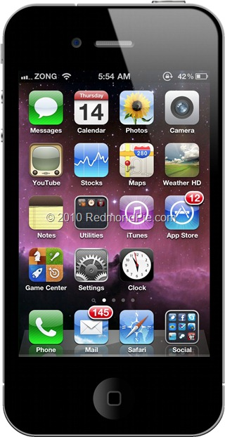 Get Animated Working Live Clock On IOS 4.1 Homescreen On