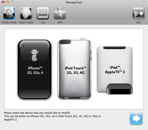 PwnageTool 4.1 for Mac