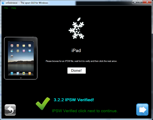 pwnage tool 4.1 pour windows
