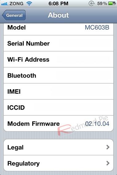 Unlock iOS 4.2