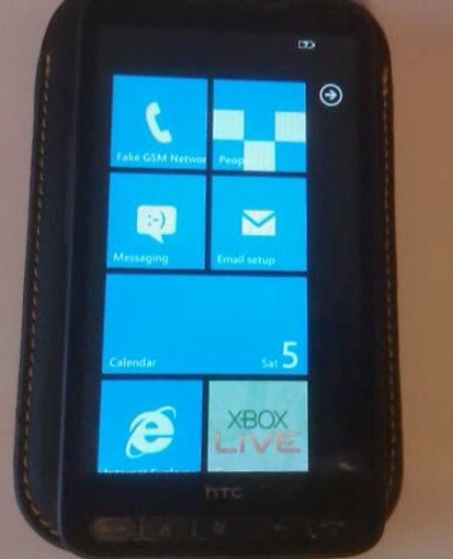 Windows Phone 7 on HTC HD2