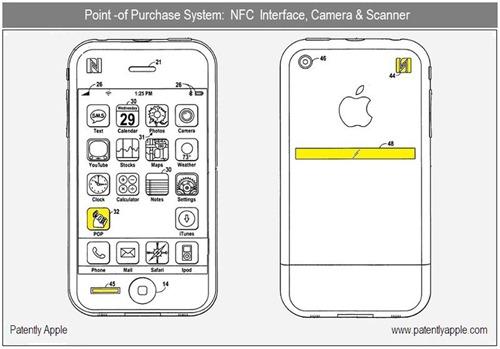 iPhone 5 Patent