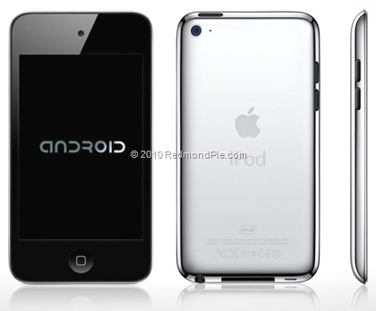 Android on iPod touch 4G
