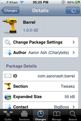 Barrel For iPhone