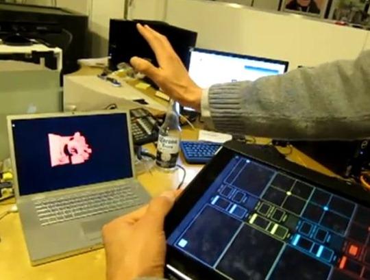 Kinect hack with iPad