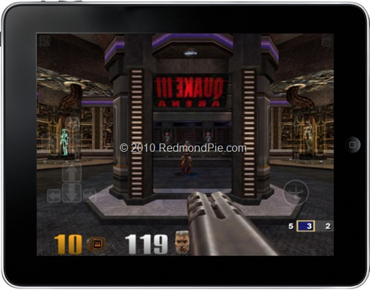 Quake 3 for iPad