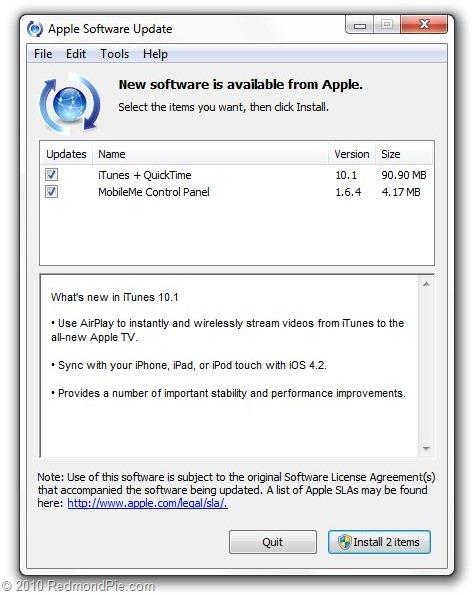 Download iTunes 10 1 for Windows and Mac | Redmond Pie