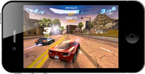 Asphalt 6 for iPhone