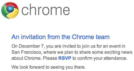 Chrome Event