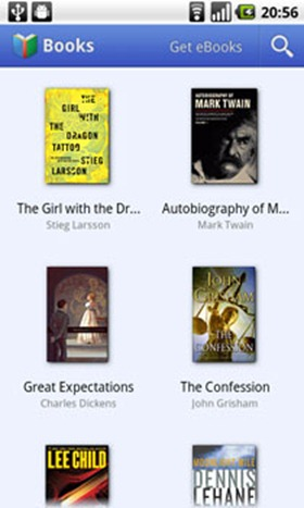 Google Books on Android