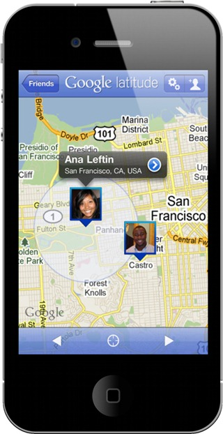 Google Latitude for iPhone