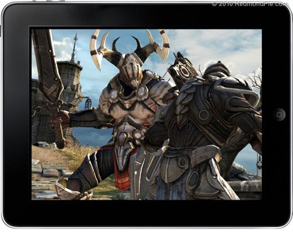 Infinity Blade on iPad
