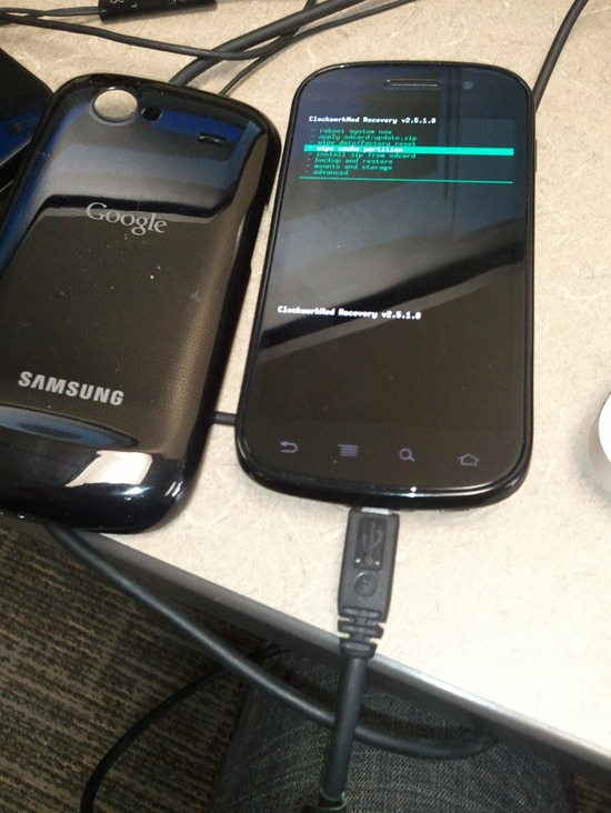Nexus S Rooted
