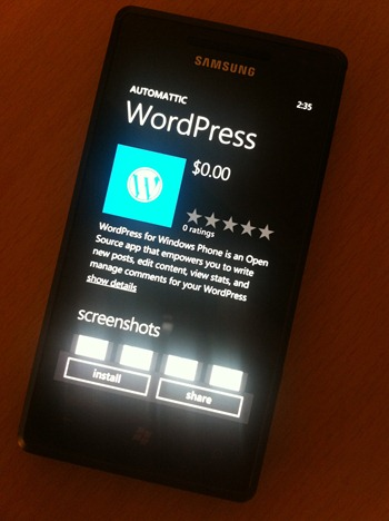 WordPress for WP7 (1)