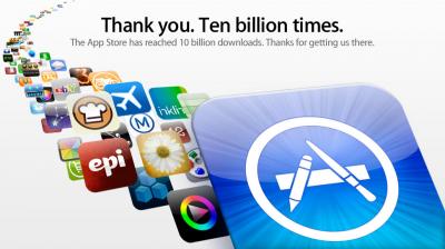 Apple's App Store Crosses 10 Billion Downloads Mark, Paper