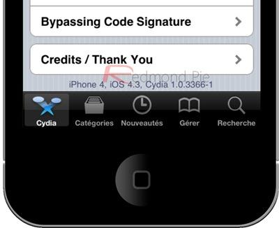iOS 4.3 Cydia