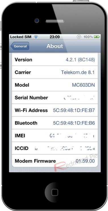 iPhone 4 1.59.00