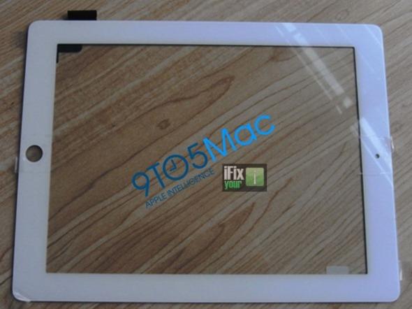 White iPad 2G