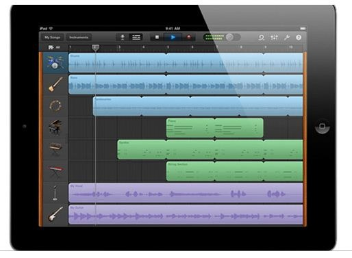Garage Band for iPad 2