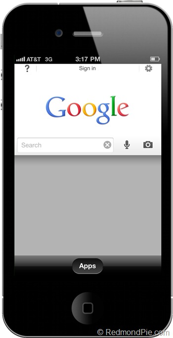 Google Search for iPhone (1)