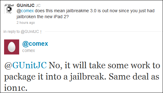 JailbreakMe for iOS 4.3