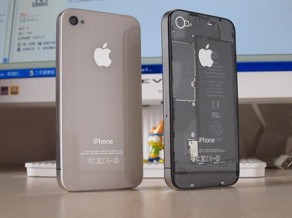 Transparent iPhone 4 KIT (2)