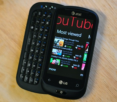 YouTube for WP7