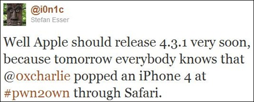 iOS 4.3.1 (1)